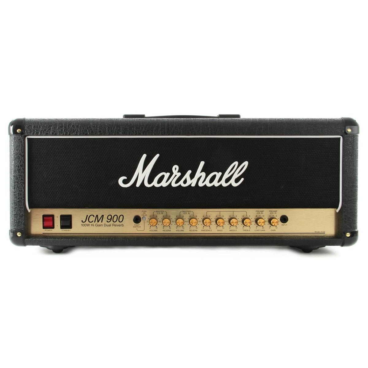 Marshall-4100-JCM900-100W-Dual-Reverb-Cabezal-front